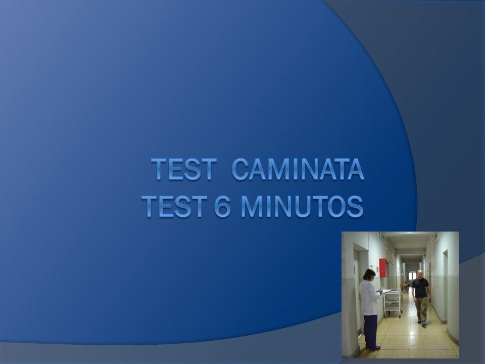 TEST CAMINATA TEST 6 MINUTOS