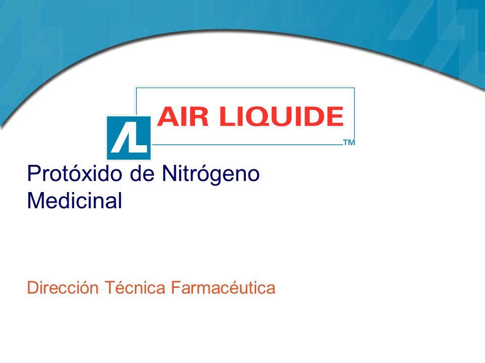 Protóxido de Nitrógeno Medicinal