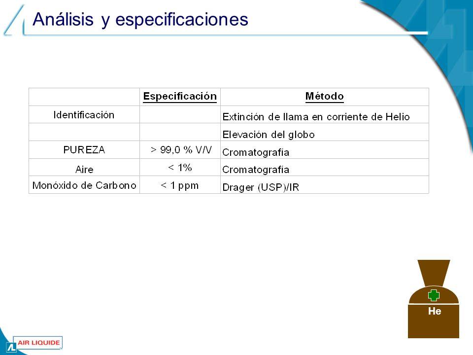 Análisis y especificaciones