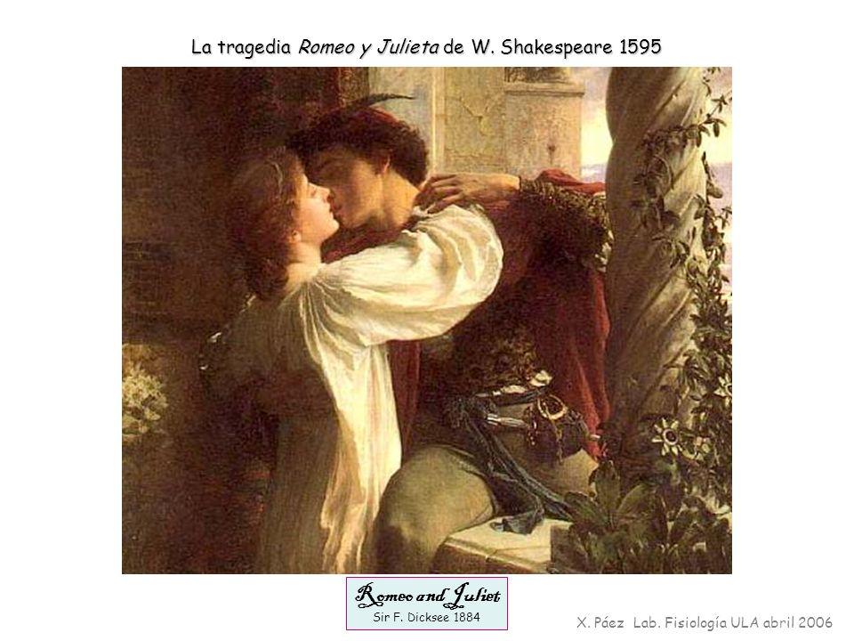 Romeo and Juliet La tragedia Romeo y Julieta de W. Shakespeare 1595
