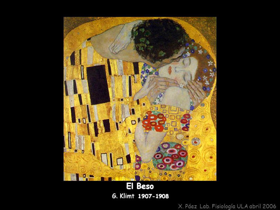 El Beso G. Klimt 1907-1908 X. Páez Lab. Fisiología ULA abril 2006