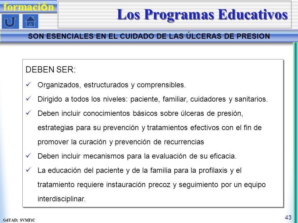 Los Programas Educativos
