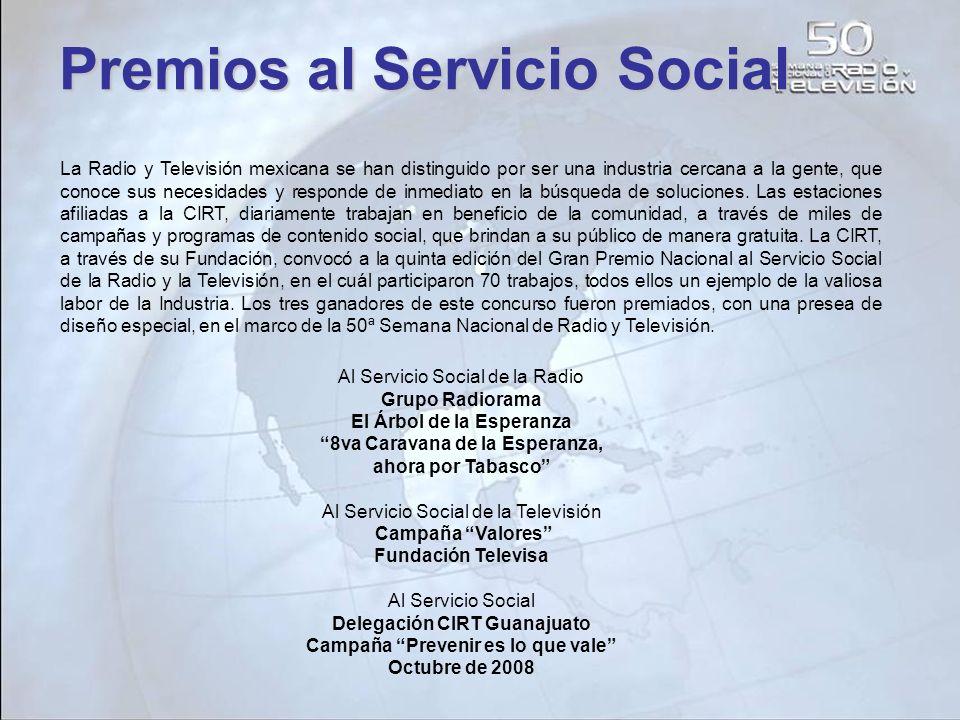 Premios al Servicio Social