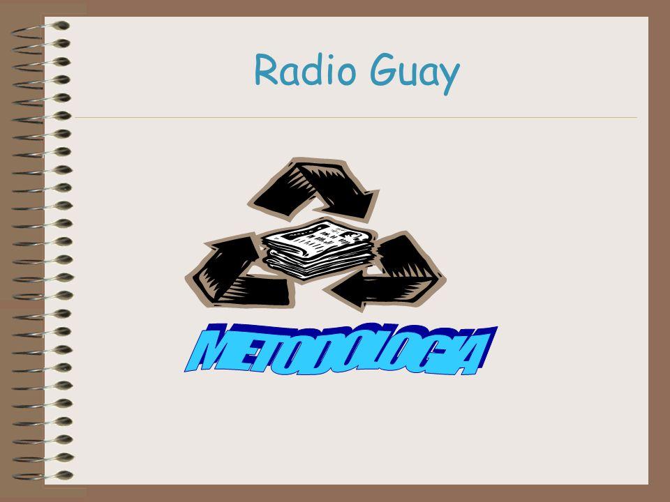 Radio Guay METODOLOGIA