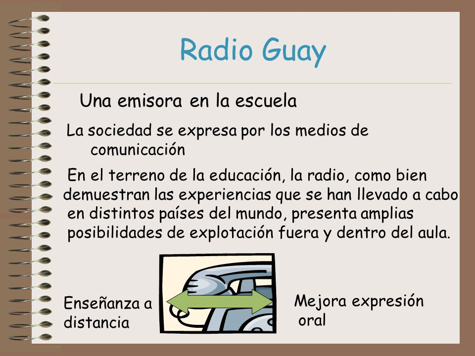 Radio Guay Una emisora en la escuela
