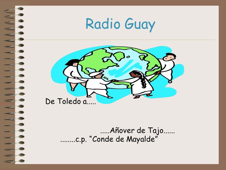 Radio Guay De Toledo a..... .....Añover de Tajo......