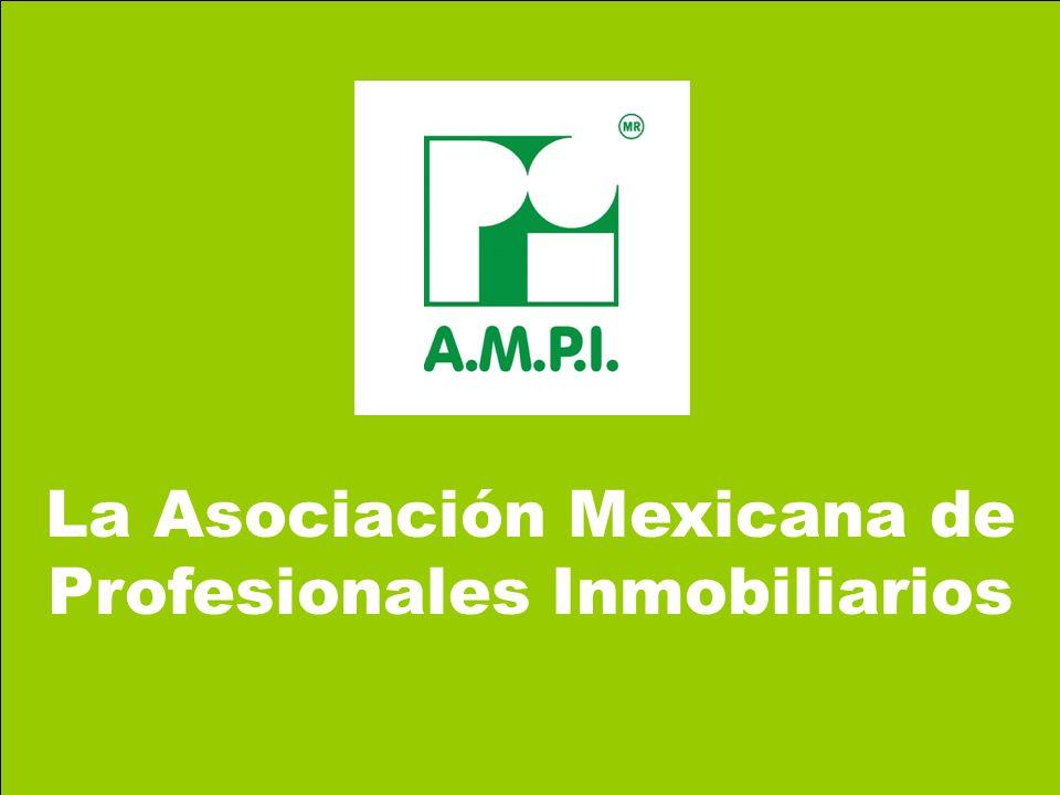 La Asociación Mexicana de Profesionales Inmobiliarios