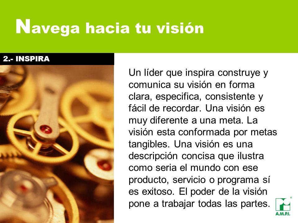 Navega hacia tu visión 2.- INSPIRA.
