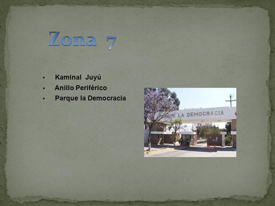 Zona 7 Kaminal Juyú Anillo Periférico Parque la Democracia