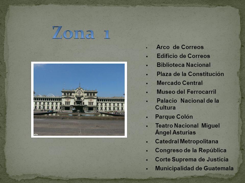 Zona 1 Edificio de Correos Biblioteca Nacional