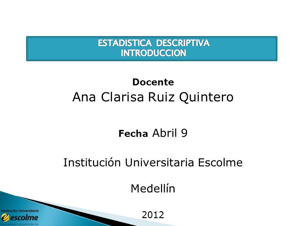 Ana Clarisa Ruiz Quintero