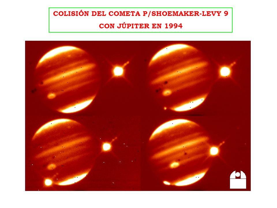 COLISIÓN DEL COMETA P/SHOEMAKER-LEVY 9