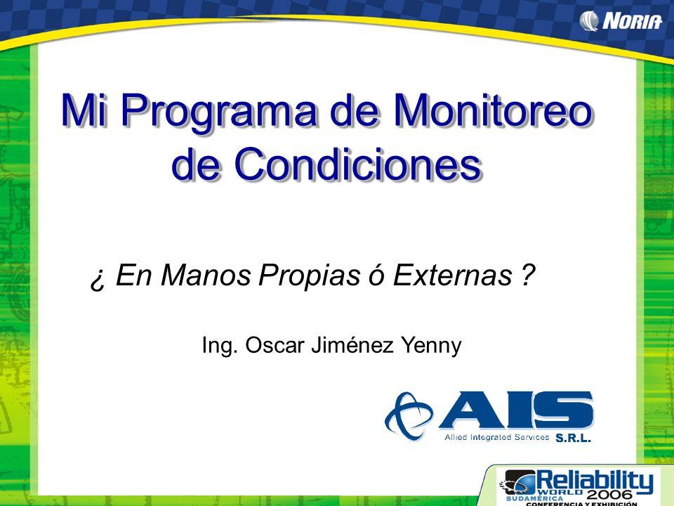 Mi Programa de Monitoreo de Condiciones