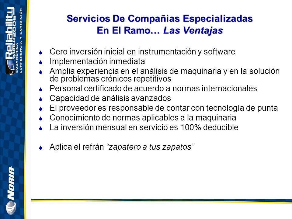 Servicios De Compañias Especializadas En El Ramo… Las Ventajas