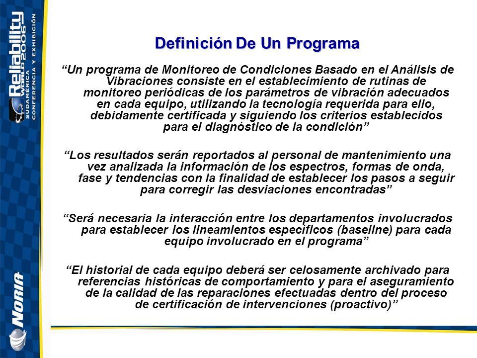 Definición De Un Programa