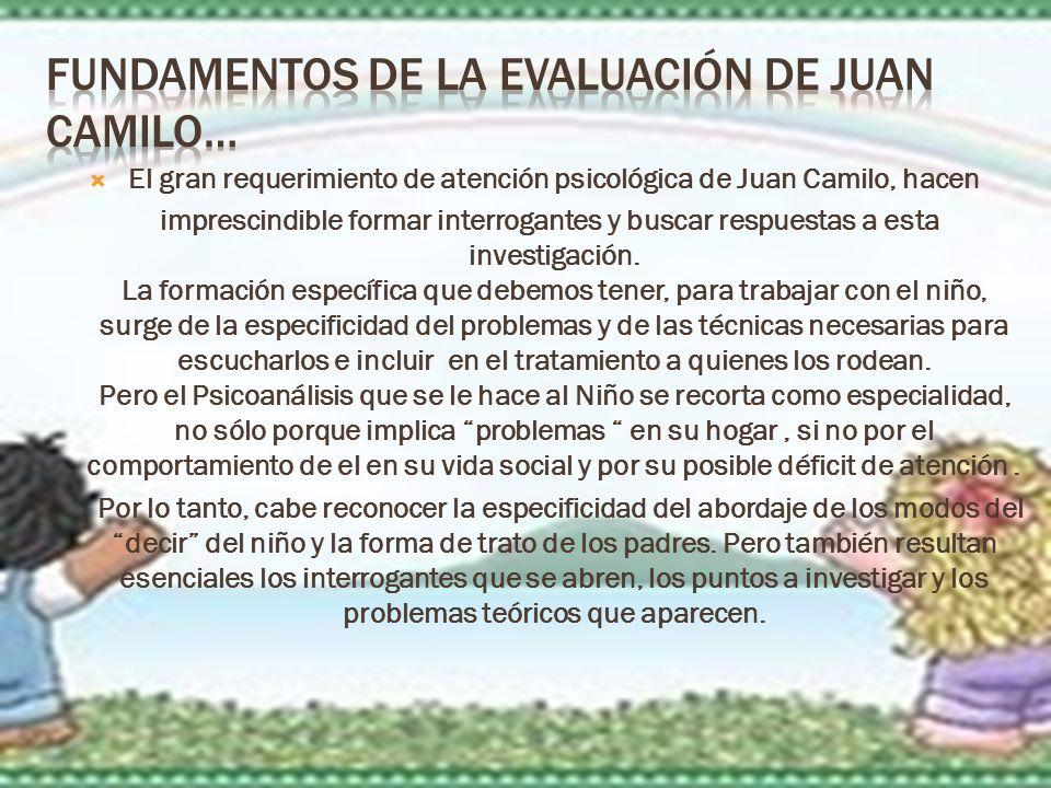 Fundamentos de la Evaluación de Juan Camilo…
