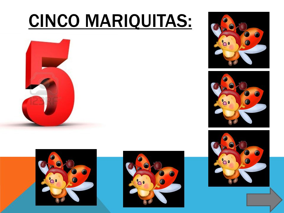 Cinco mariquitas: