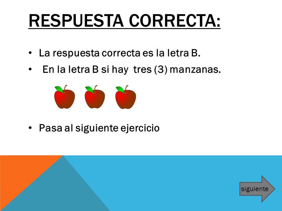Respuesta correcta: La respuesta correcta es la letra B.