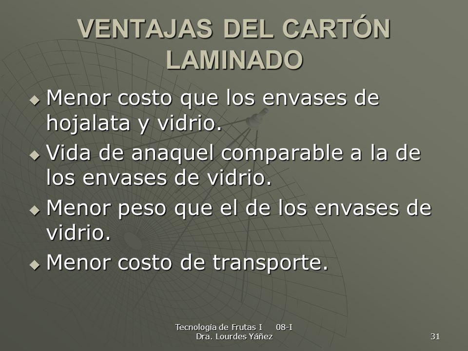 VENTAJAS DEL CARTÓN LAMINADO