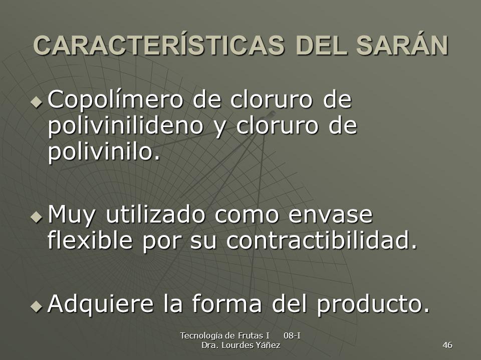 CARACTERÍSTICAS DEL SARÁN