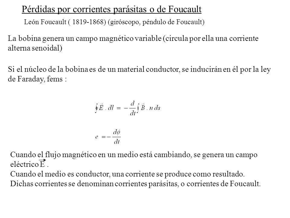Pérdidas por corrientes parásitas o de Foucault