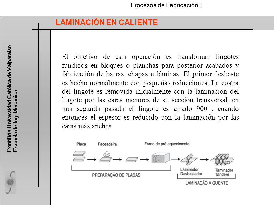 LAMINACIÓN EN CALIENTE