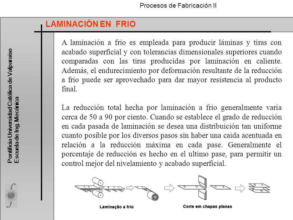 LAMINACIÓN EN FRIO