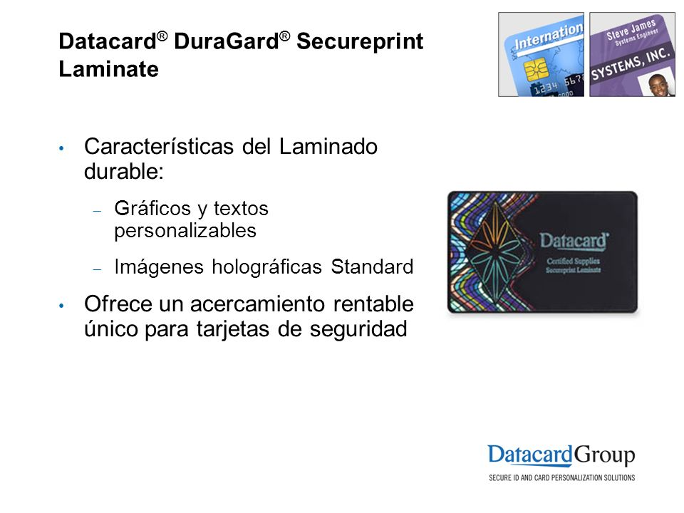 Datacard® DuraGard® Secureprint Laminate