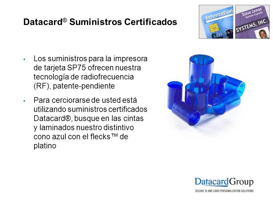 Datacard® Suministros Certificados