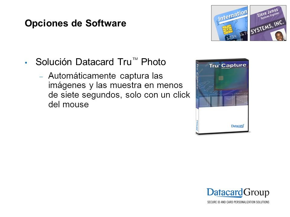 Solución Datacard Tru™ Photo