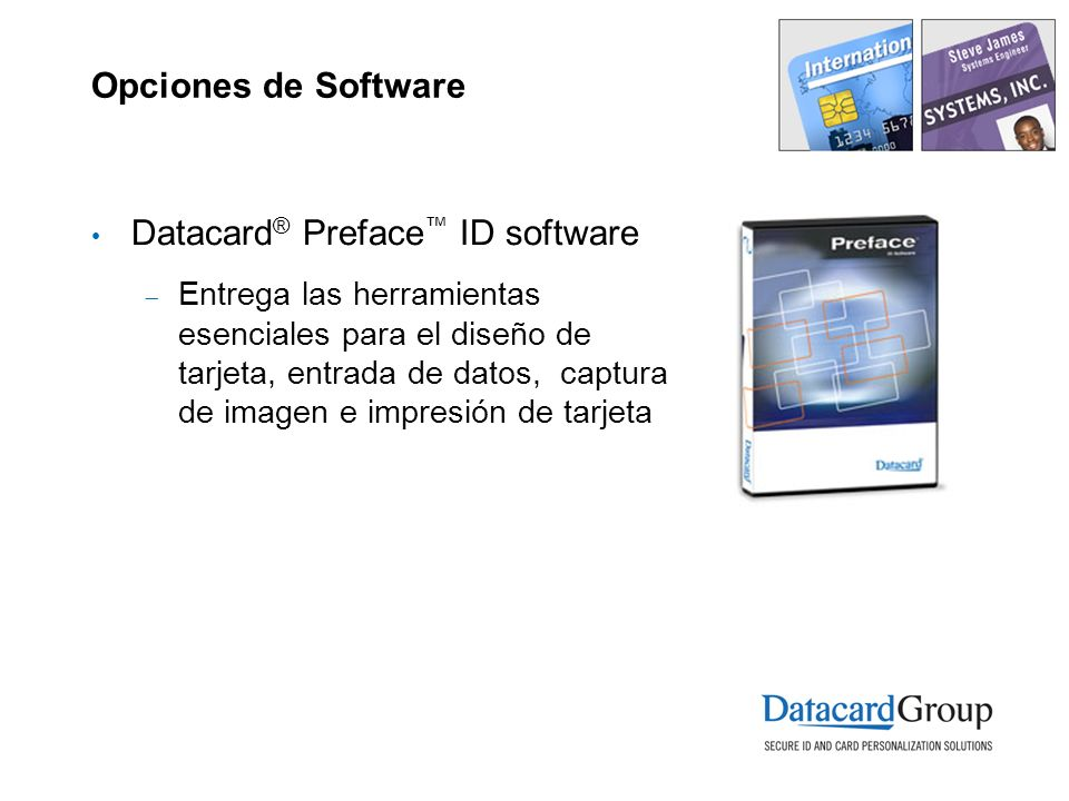 Datacard® Preface™ ID software