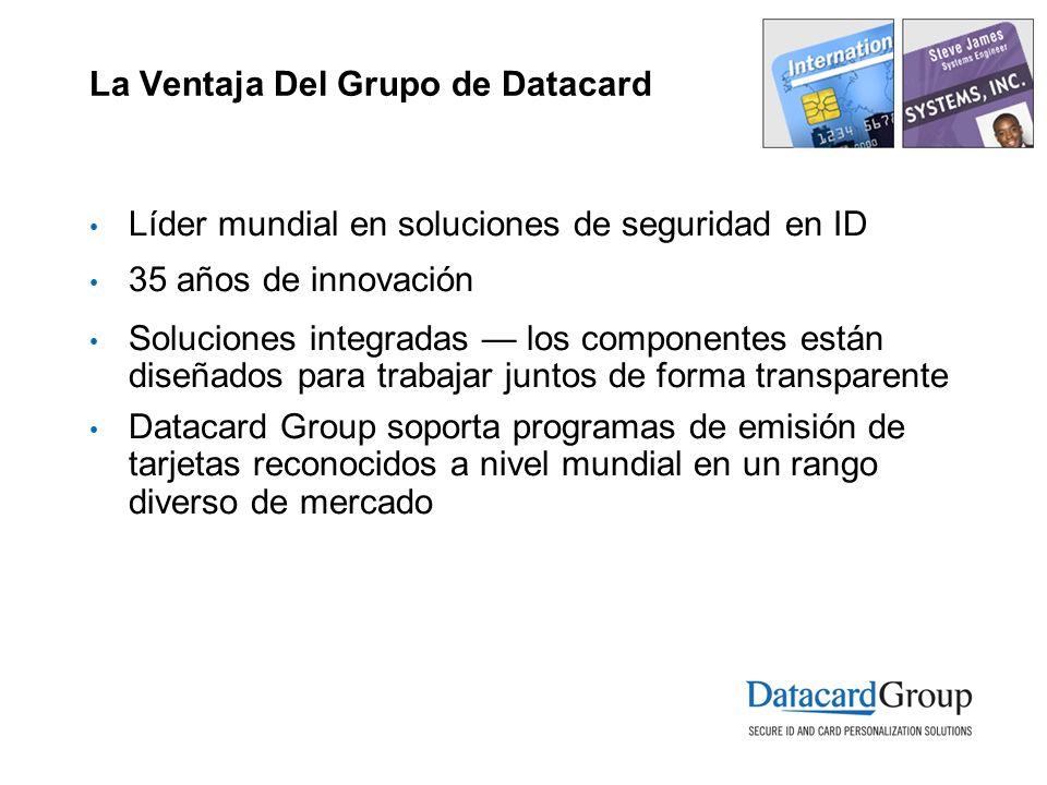 La Ventaja Del Grupo de Datacard