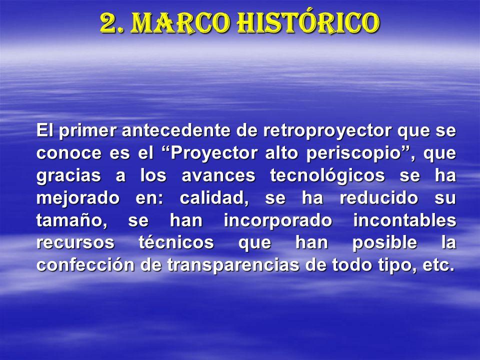 2. MARCO HISTÓRICO