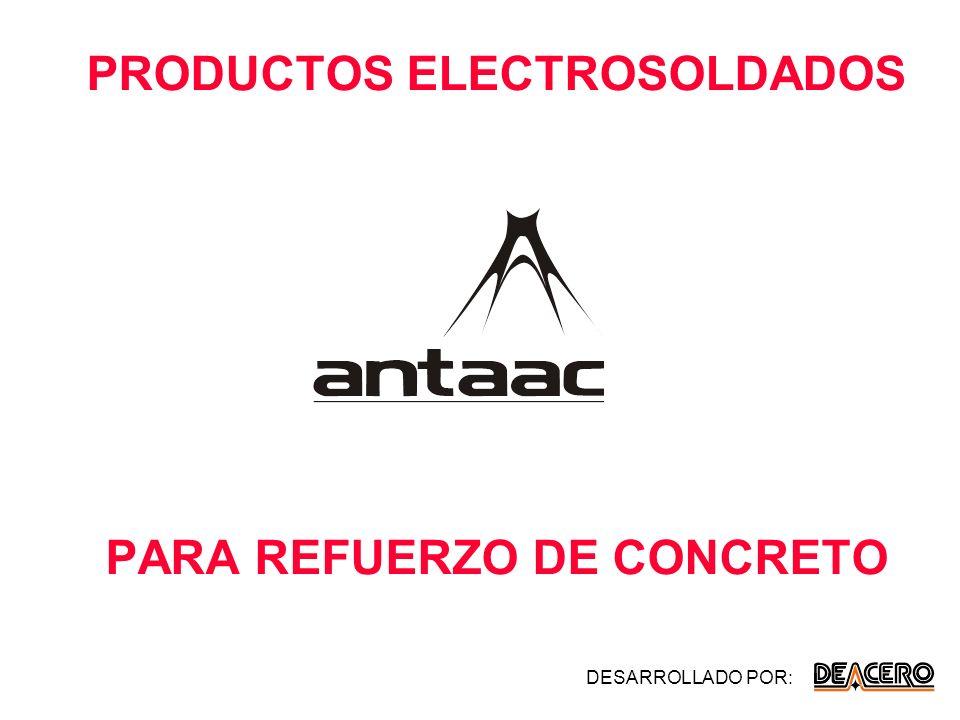 PRODUCTOS ELECTROSOLDADOS PARA REFUERZO DE CONCRETO