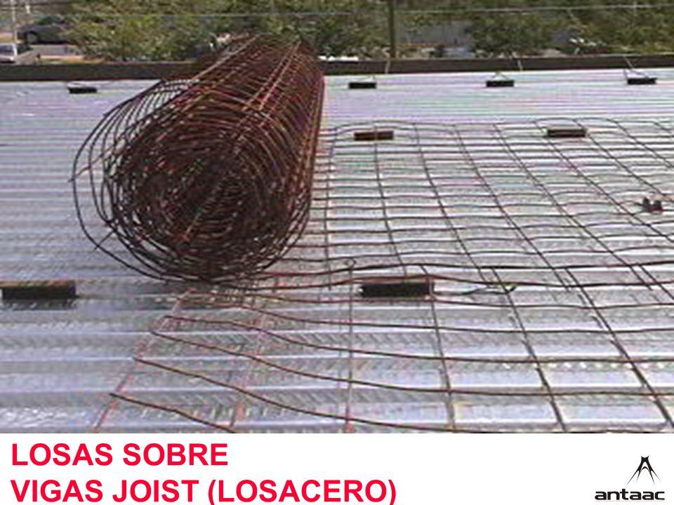 LOSAS SOBRE VIGAS JOIST (LOSACERO)