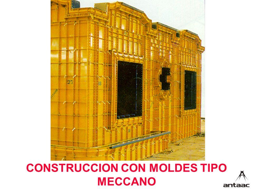 CONSTRUCCION CON MOLDES TIPO MECCANO