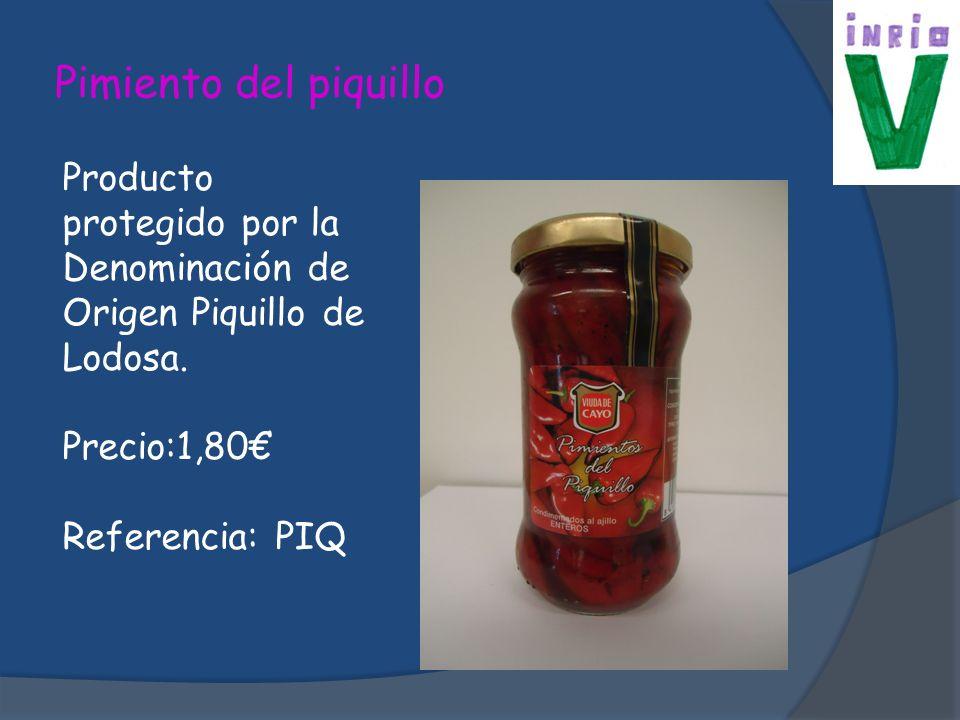 Pimiento del piquillo Producto protegido por la Denominación de Origen Piquillo de Lodosa. Precio:1,80€