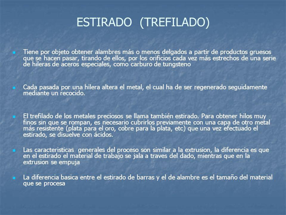ESTIRADO (TREFILADO)
