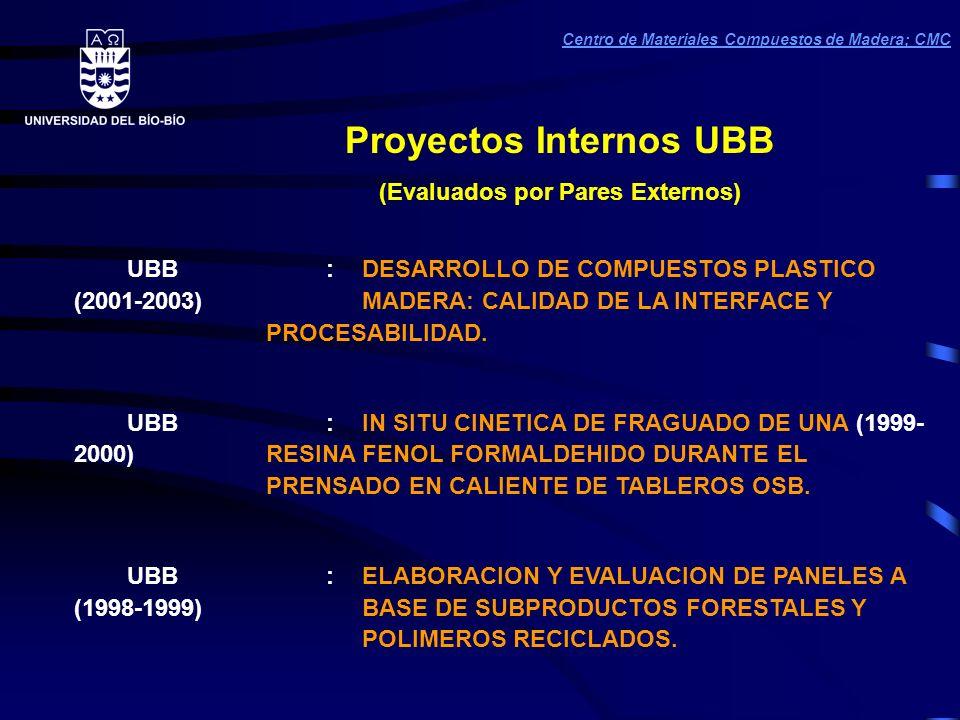 Proyectos Internos UBB (Evaluados por Pares Externos)