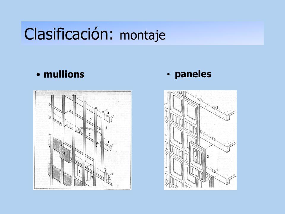 Clasificación: montaje
