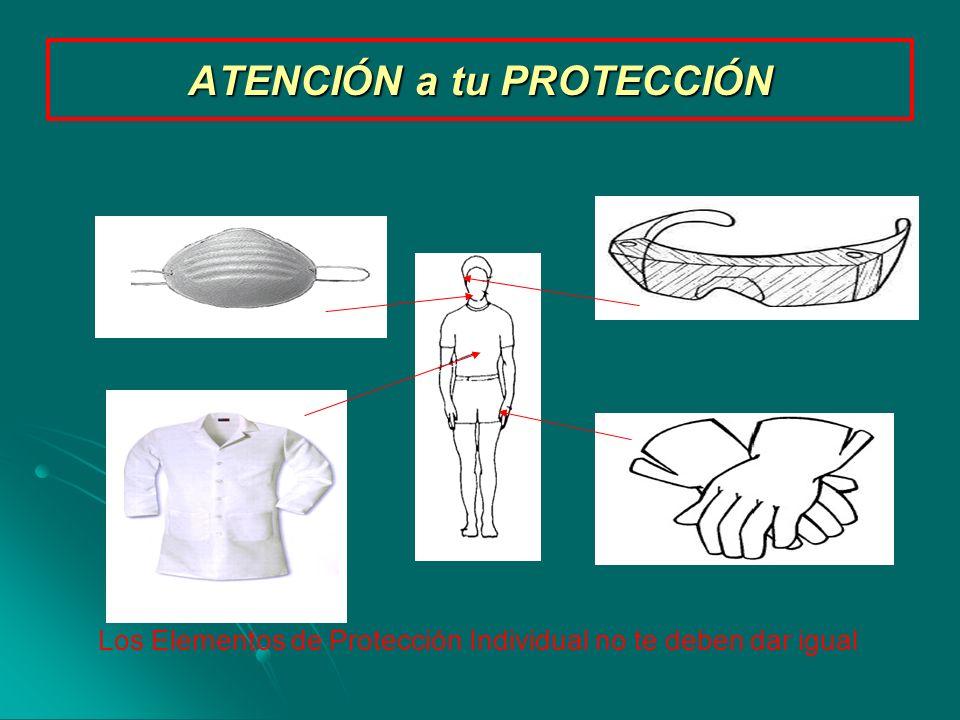 ATENCIÓN a tu PROTECCIÓN