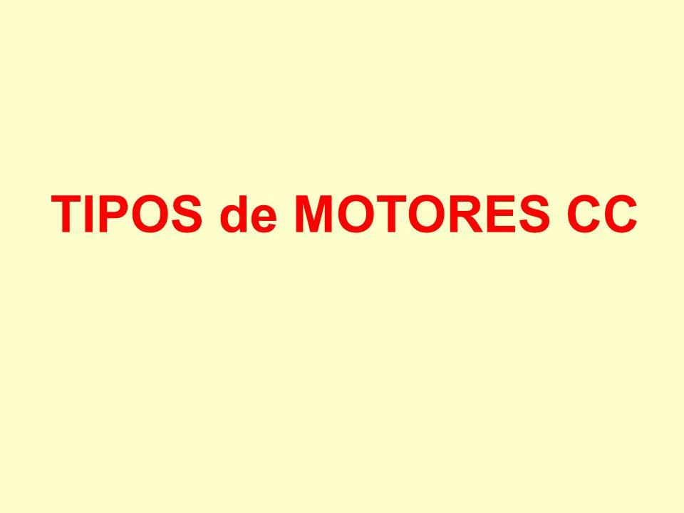TIPOS de MOTORES CC