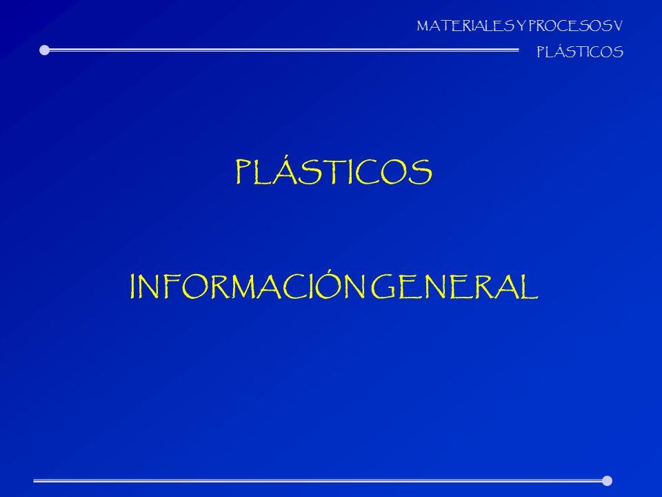 PLÁSTICOS INFORMACIÓN GENERAL
