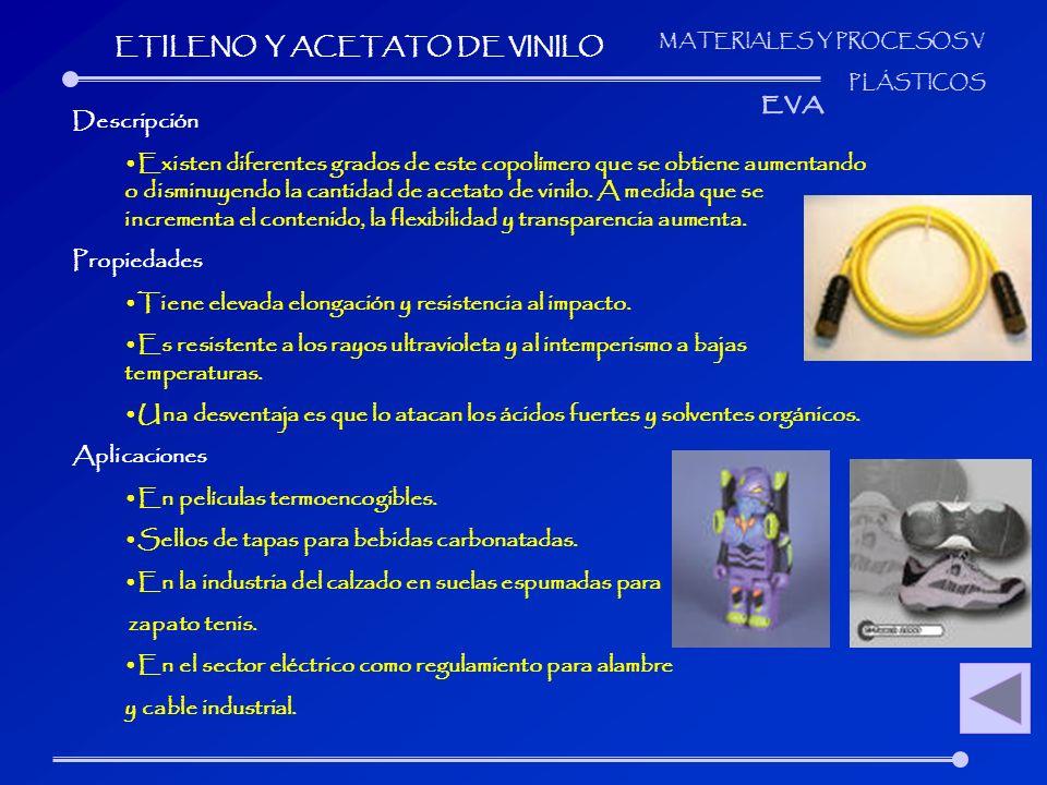 ETILENO Y ACETATO DE VINILO