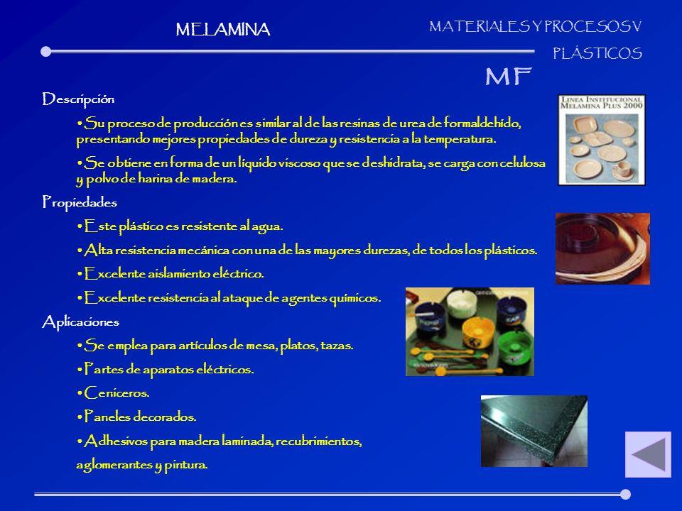 MF MELAMINA Descripción
