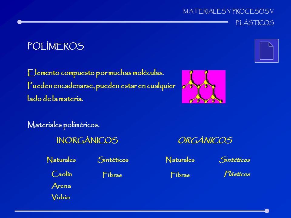 Elemento compuesto por muchas moléculas.