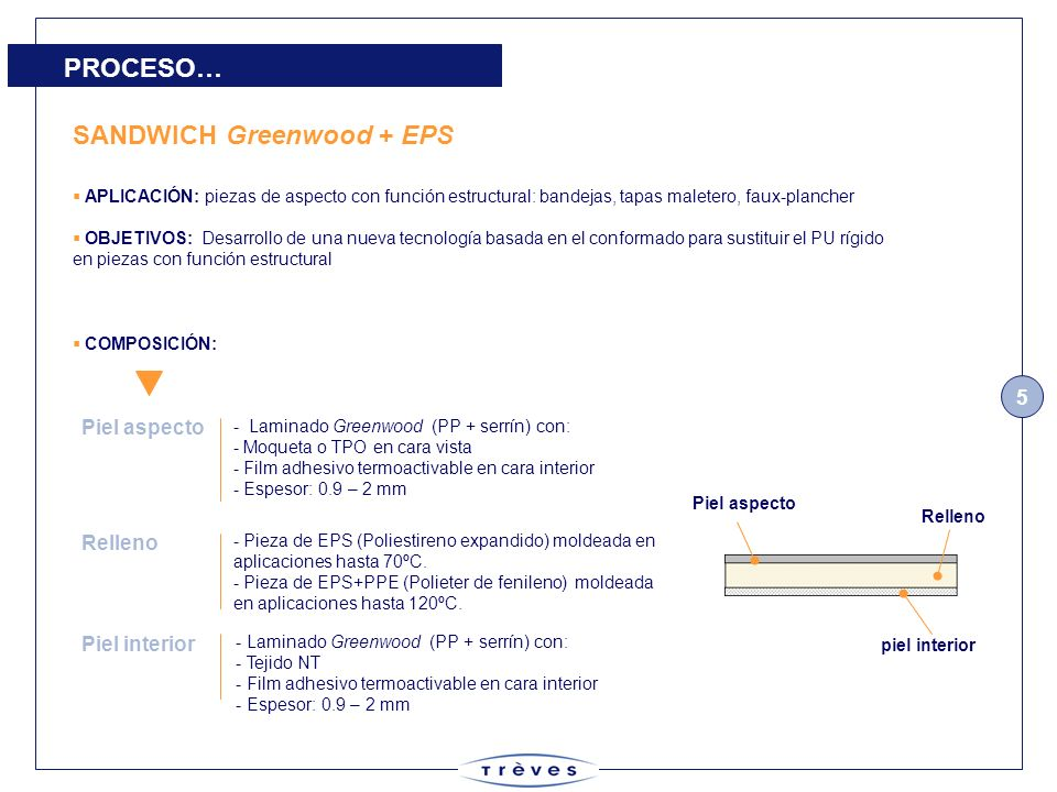 SANDWICH Greenwood + EPS