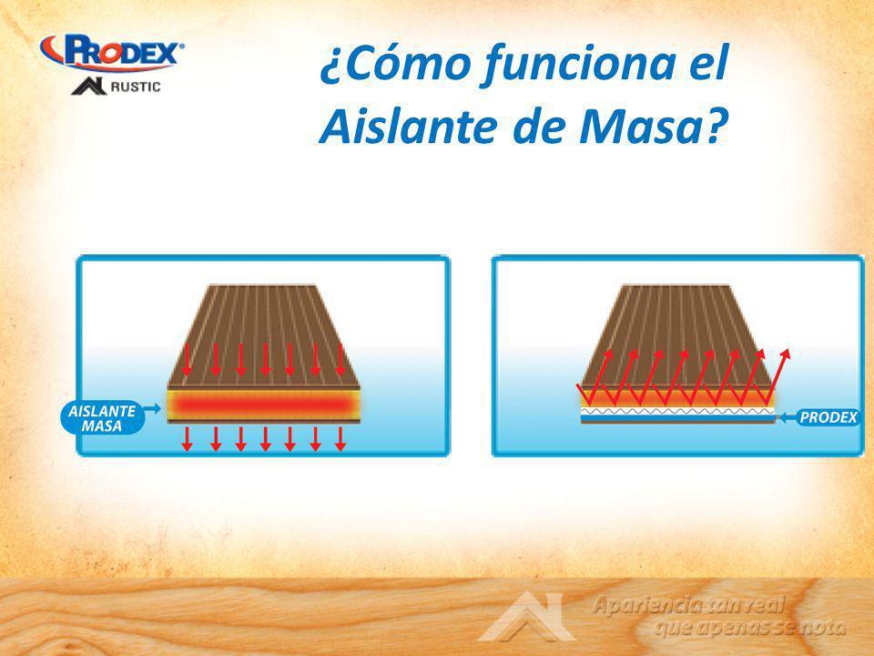 ¿Cómo funciona el Aislante de Masa