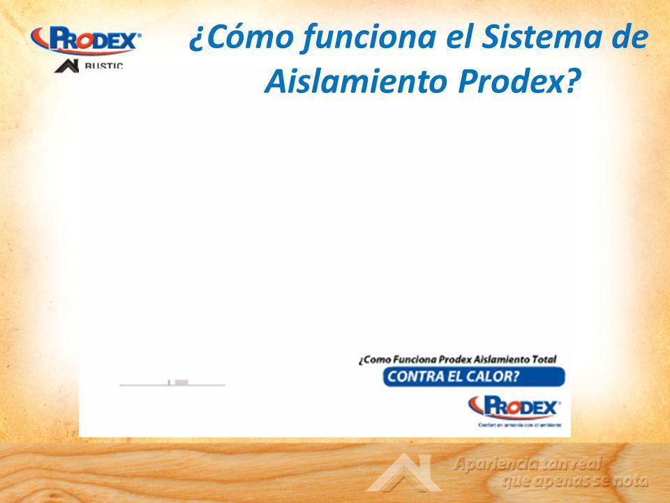 ¿Cómo funciona el Sistema de Aislamiento Prodex