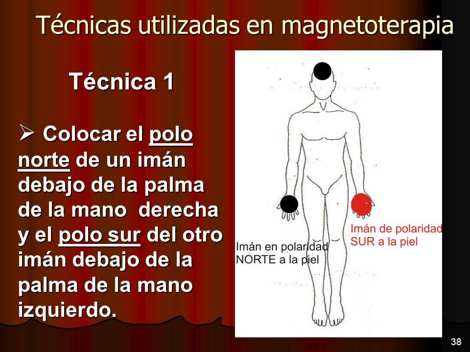 Técnicas utilizadas en magnetoterapia
